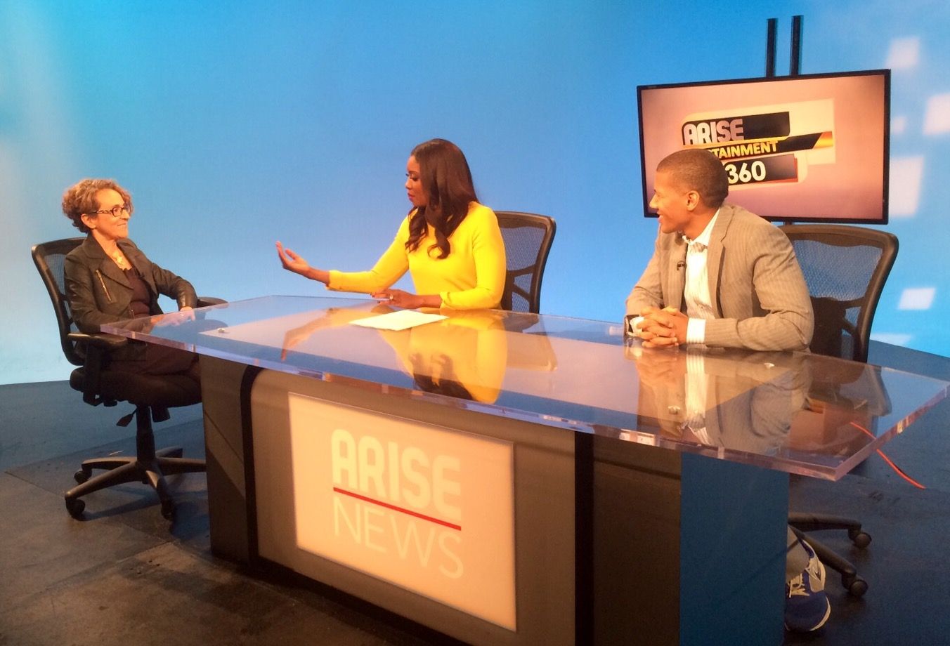 IBE Founder Tatiana J. Whytelord Interviewed on Arise Entertainment 360